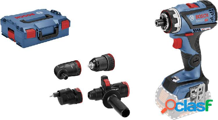 Bosch professional gsr 18v-60 fc 06019g7103 trapano avvitatore a batteria 18 v li-ion senza batteria, incl. accessori, incl. valigia