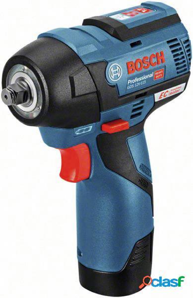 Bosch professional 06019e0103 avvitatore ad impulsi a batteria 12 v li-ion incl. seconda batteria