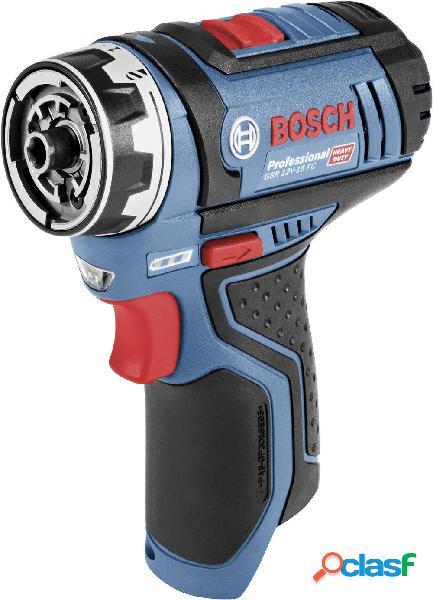 Bosch professional gsr 12v-15 flexiclick 06019f6004 trapano avvitatore a batteria 12 v li-ion senza batteria