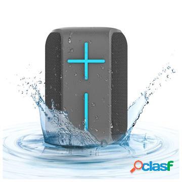 Altoparlante bluetooth wireless portatile hopestar p16 - grigio