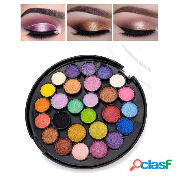 27 colori eyeshadow palette long-lasting shimmer eye shadow matte trucco palette eye cosmetic