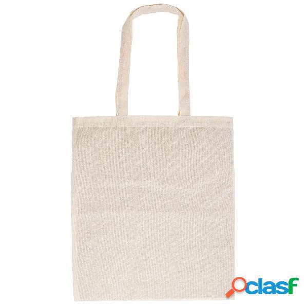 Shopper cotone manico lungo