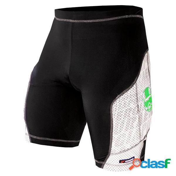 Pantalone energiapura racing con protezioni (colore: red, taglia: i)