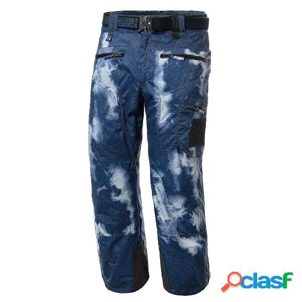 Pantalone sci energiapura grong (colore: blue jeans, taglia: s)