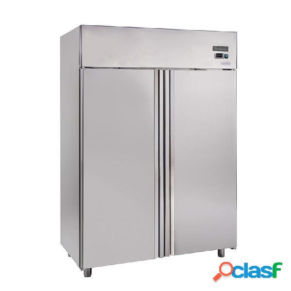 Congelatore verticale in inox ventilato - 1200 lt - temperatura -18°/-22°c - predisposto per motore remoto