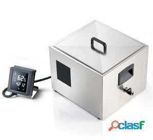 Strumento cottura a bassa temperatura termostato integrato comandi touch vasca gn 2/3 l 390 mm x p 360 mm x h 300 mm 2000 w