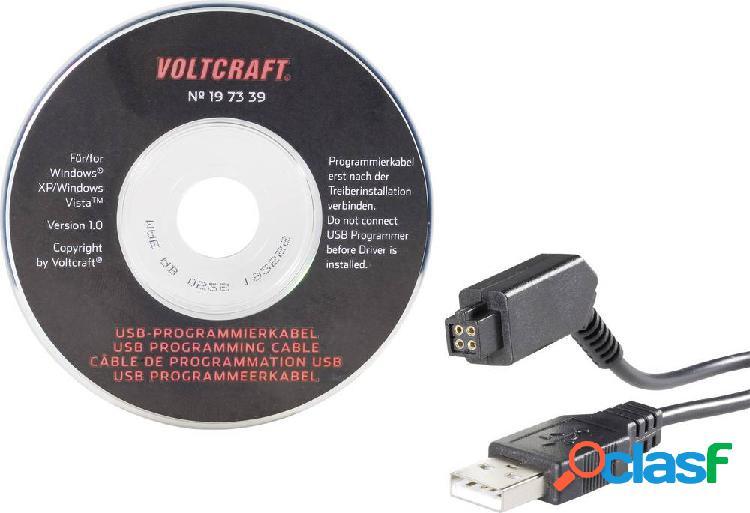 Cavo di programmazione voltcraft 197339 adatto per tipo (kit robot): pro-bot 128