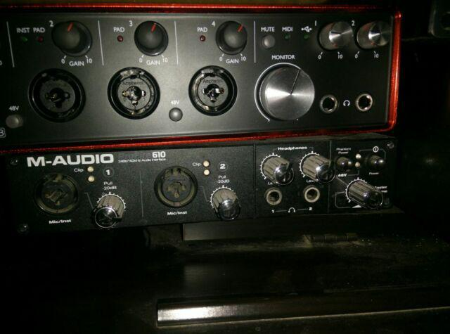 M-audio profire 610 scheda audio professionale rec