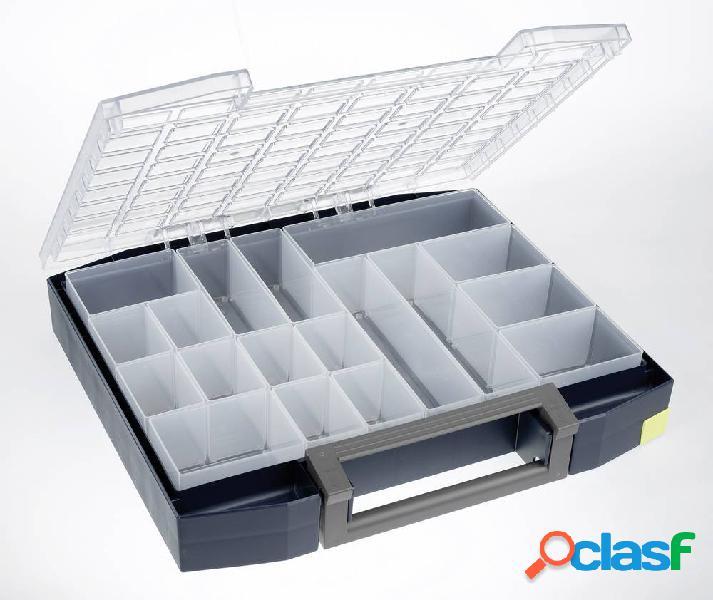 Raaco boxxser 80 8x8-18 valigetta per minuteria (l x a x p) 465 x 78 x 401 mm scomparti: 18 1 pz.