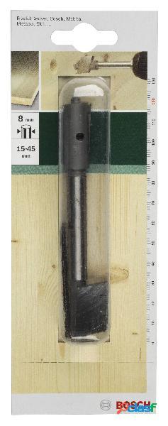 Bosch accessories 2609255277 mecchia per legno 45 mm lunghezza totale 120 mm alberino cilindrico 1 pz.