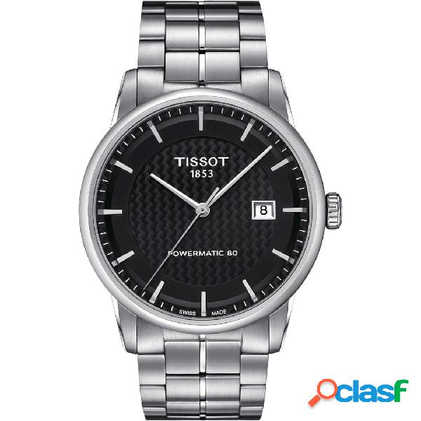 Orologio uomo tissot luxury powermatic 80 mod. t0864071120102