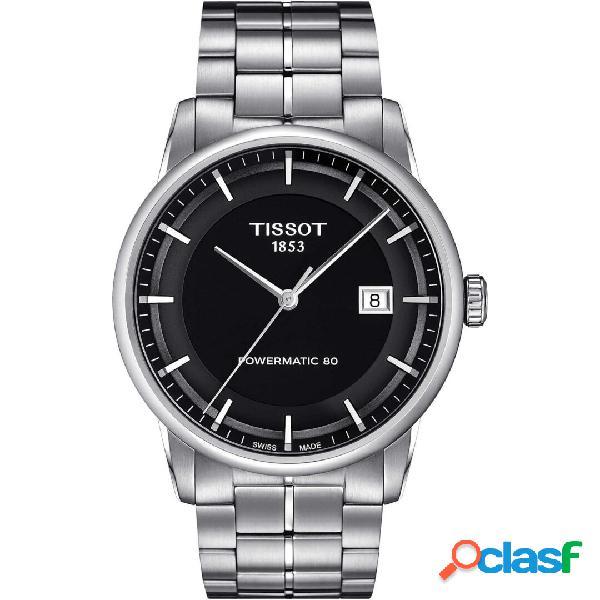 Orologio uomo tissot luxury powermatic 80 mod. t0864071105100