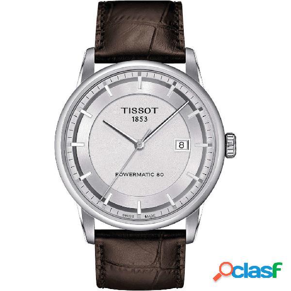 Orologio uomo tissot luxury powermatic 80 mod. t0864071603100