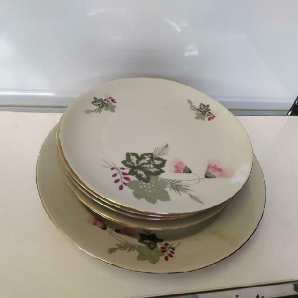 Servizio piatti ceramica bavaria con piatto portata disegno