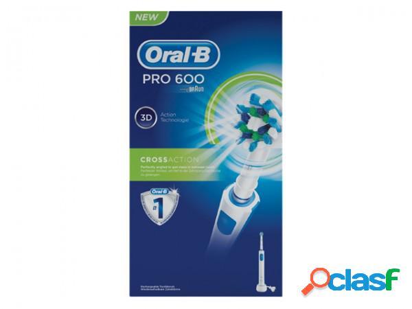 Oral b pro 600 crossaction spazzolino elettrico
