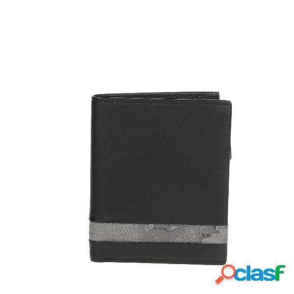 Alviero martini portafoglio uomo nero/grigio