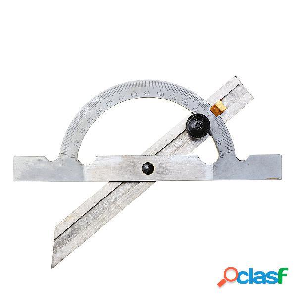 Goniometro regolabile in acciaio inossidabile 150x100mm strumento per la lavorazione del legno con righello ad angolo di
