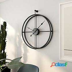 Moderno contemporaneo / europeo in acciaio inox irregolare batteria da interno decorazione orologio da parete no placcato no 52cm 59cm lightinthebox
