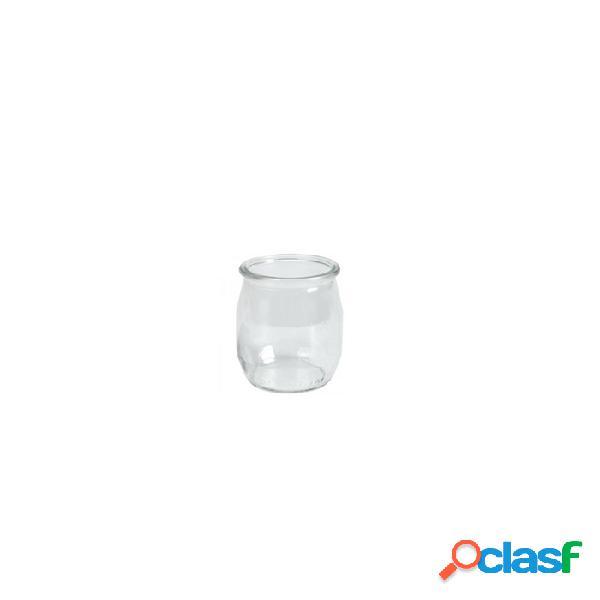 Vasetto Per Yogurt E Dolci 100% Chef In Vetro 12 Cl - Trasparente