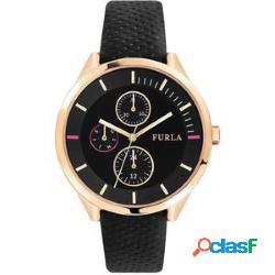 Orologio originale furla r4251102527 donna 40mm acciaio pelle ne nuovo con scatola e garanzia 24 mesi - furla - r4251102527