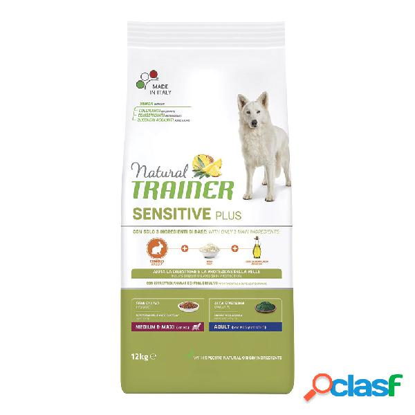 Natural trainer sensitive plus medium&maxi adult coniglio e riso...