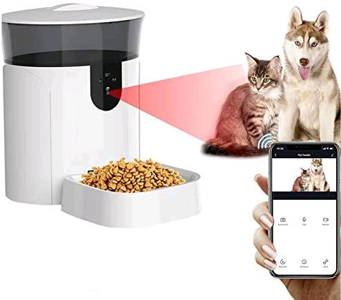 Distributore automatico cibo con videocamera nuovo