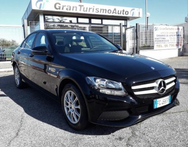 Mercedes-benz c 200 d business km certificati cambio manuale