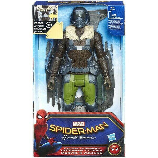 Marvel's vulture personaggio elettronico 30 cm spiderman