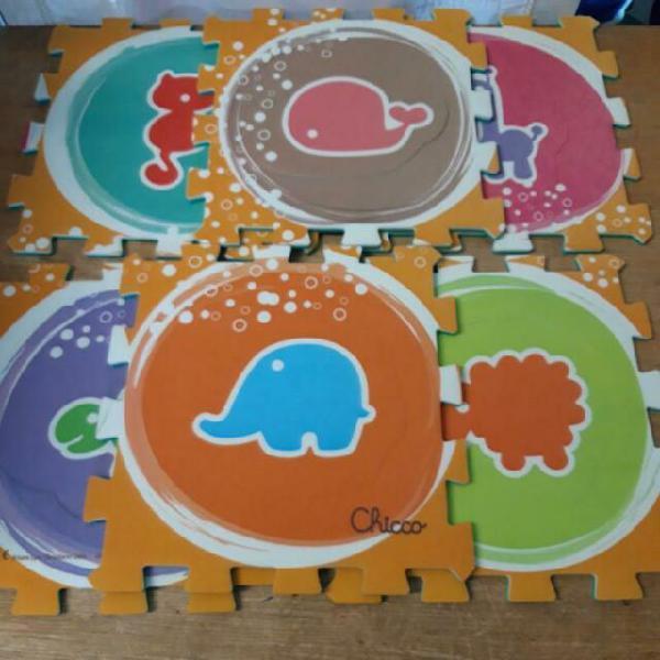 Tappeto gioco puzzle 6 pz