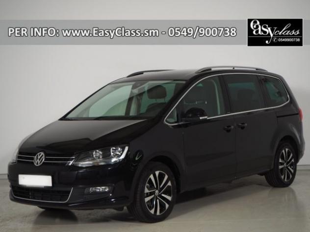 Volkswagen sharan 2.0 tdi 150 cv scr united navi 7 posti acc