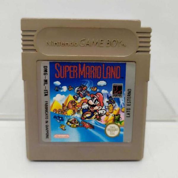 Videogioco super mario land game boy nintendo usato