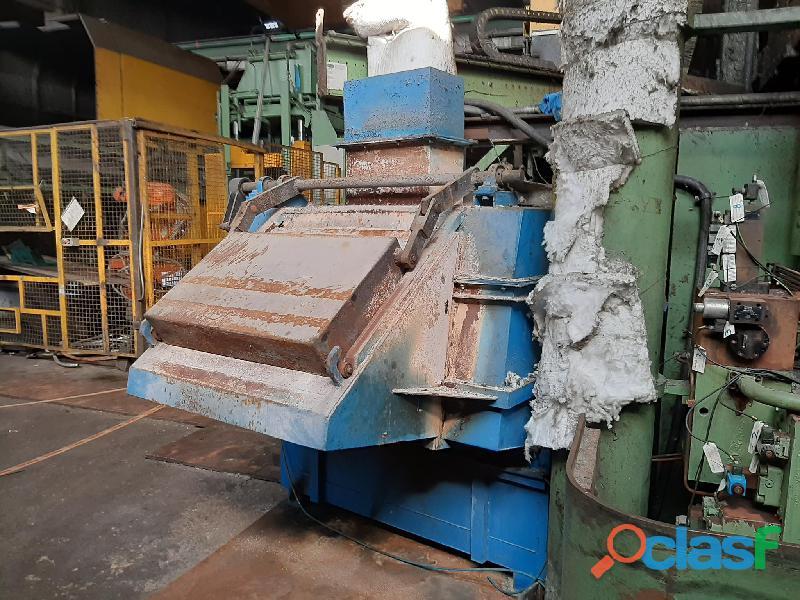 Forno mantenimento alluminio Deltaimpianti