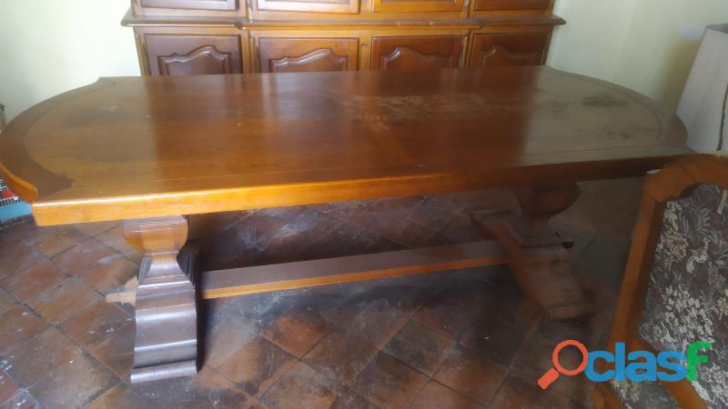 Tavolo legno massello vintage