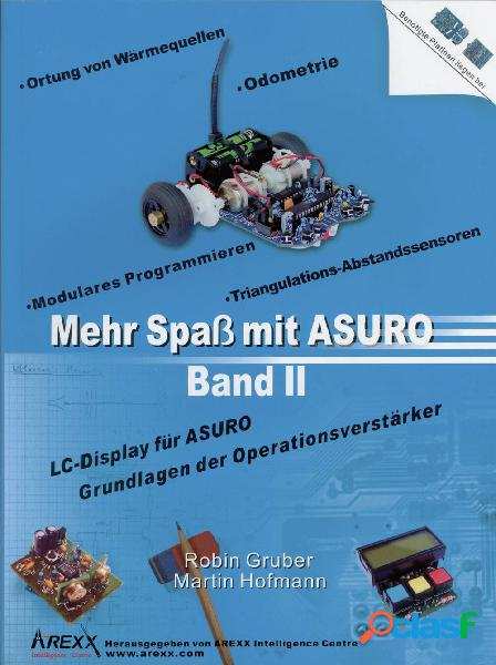 Libro arexx mehr spaß mit asuro, band 2 adatto per tipo (kit robot): asuro