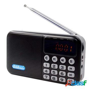 Portable Bluetooth DAB Radio with LCD Display