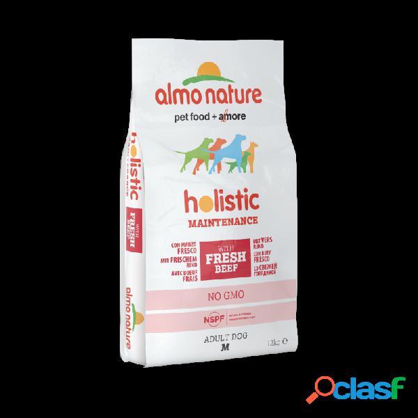 Almo nature - almo nature holistic medium adult con manzo e riso per cani sacco da 2 kg