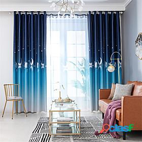 Gyrohome 1pc gooses shading high blackout curtain drape window home balcony dec children door customizable living room bedroom dining room