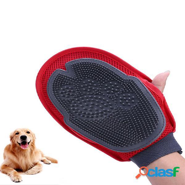 Pulizia del bagno pennello guanto pet dog cat massaggio capelli rimozione del pelo toelettatura toelettatura wash