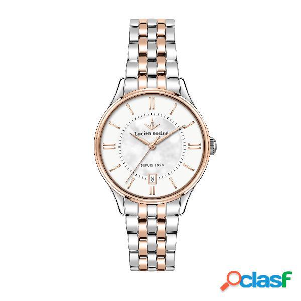 Orologio donna lucien rochat tempo e data charme r0453115503
