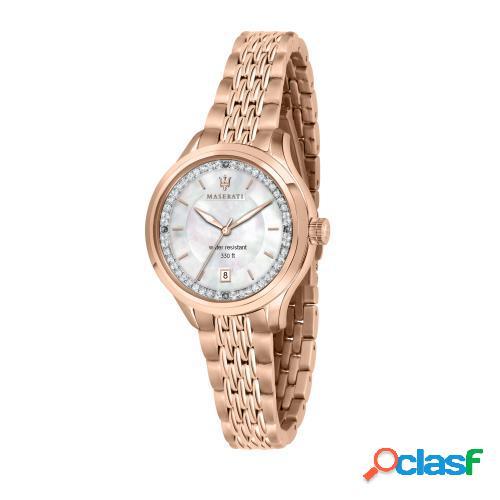 Orologio donna maserati solo tempo, 3h traguardo r8853112514