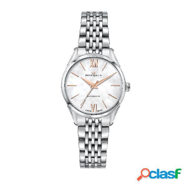 Orologio donna philip watch automatico roma r8223217502
