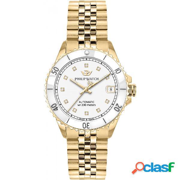 Orologio donna philip watch tempo e data caribe r8223216501