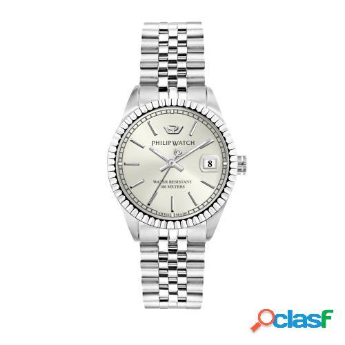 Orologio donna philip watch tempo e data caribe r8253597543