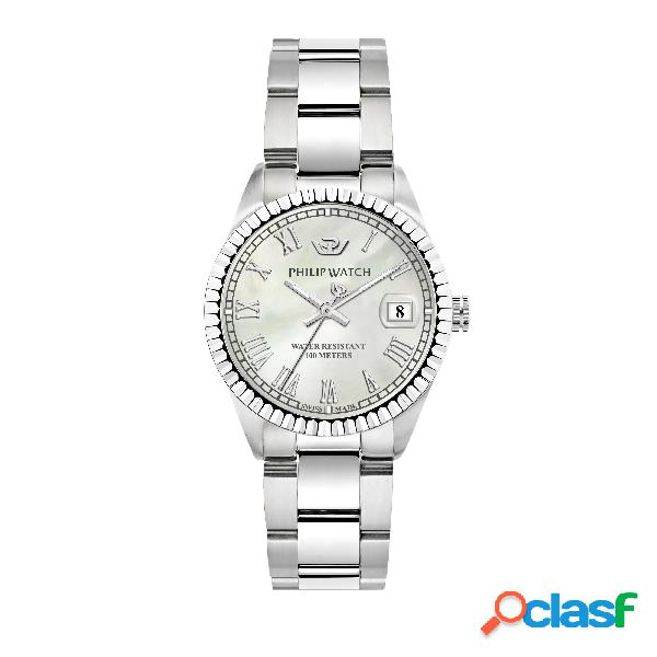 Orologio donna philip watch tempo e data caribe r8253597544