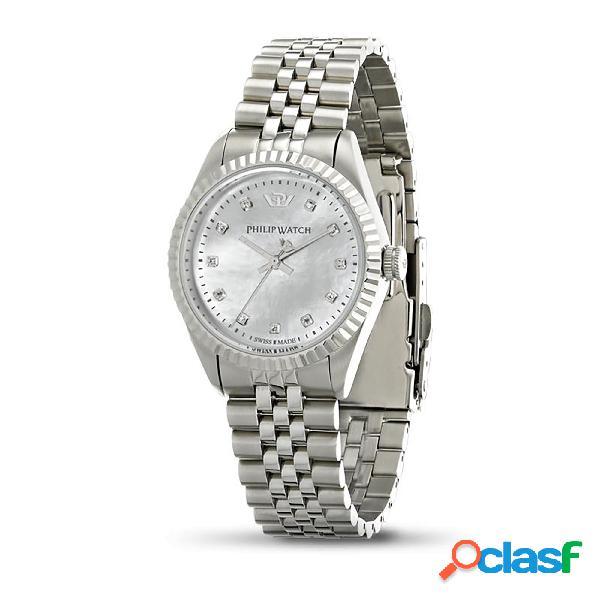 Orologio donna philip watch solo tempo, 3h caribe r8253107516