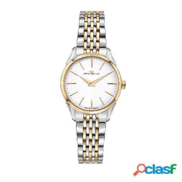Orologio donna philip watch solo tempo, 3h roma r8253217503