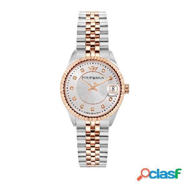 Orologio donna philip watch tempo e data caribe r8253597525