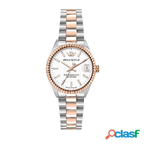 Orologio donna philip watch tempo e data caribe r8253597580