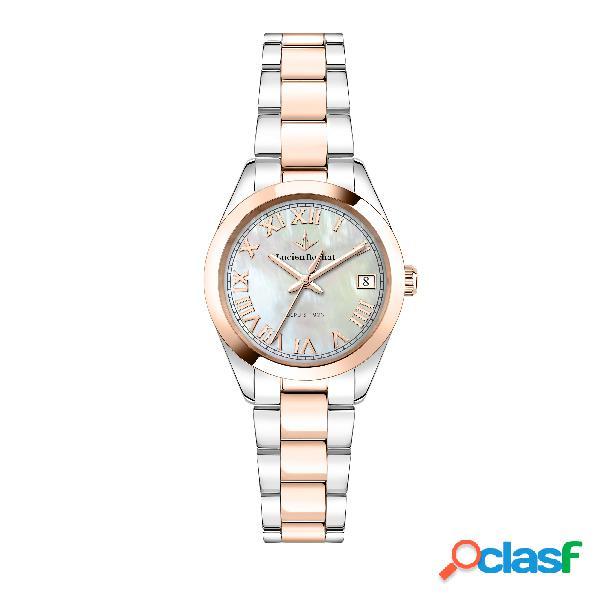 Orologio donna lucien rochat tempo e data madame r0453114503