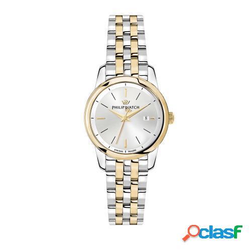Orologio donna philip watch tempo e data anniversary r8253150502